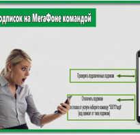 Как снять подписки на мегафоне