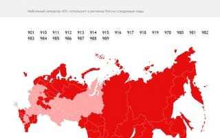 Коды телефонов мтс москвы